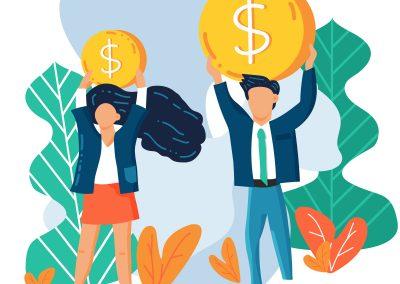 Brecha salarial: 23 centavos hacen la diferencia