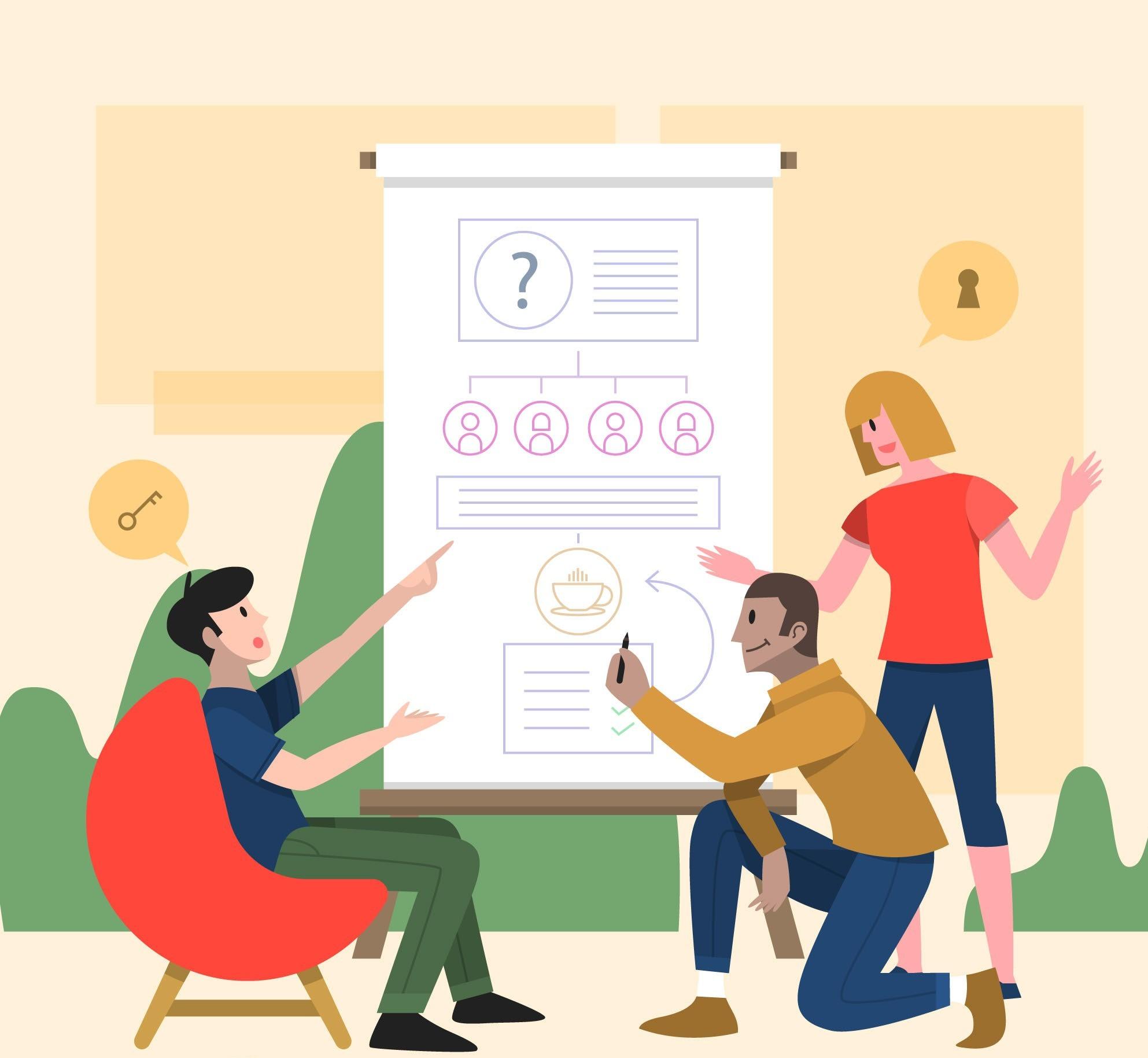 ilustración de qué es el mentoring