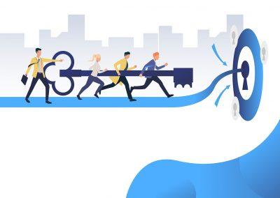 Liderazgo y trabajo en equipo en tiempos de cambio