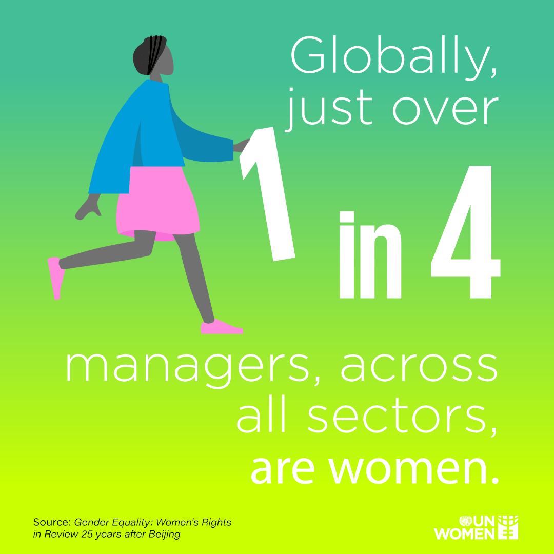 El liderazgo femenino en las empresas todavía deja mucho que desear.